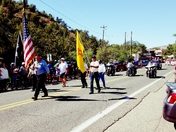 The 4th of July parade in Jemez Springs. 2017.
