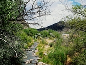 The river that runs through Jemez Springs,NM.