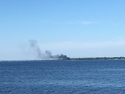 Smoke Alburgh/swanton bridge