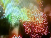 Face in fireworks