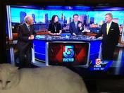Melita and her favorite news team