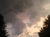 Ominous clouds in Lee's Summit