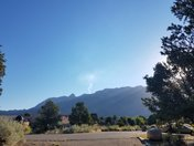 FIRE IN THE SANDIAS