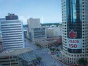 Canada Day Winnipeg Living Flag