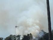 DeLavega fire east side Santa Cruz