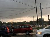 Tornado warning in Butler County