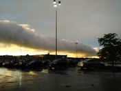 Northgate mall evening after storms