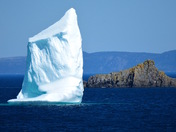 Newfound Iceberg From The Trail