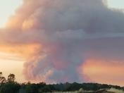 Wall fire in Butte County.