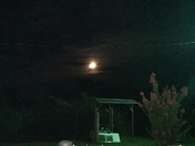 The moon in Mende Ms around 9.30