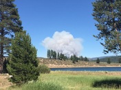 Fire east of Truckee