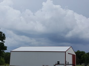 Storm clouds to south.if Centerville