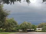 Storm in The Villages at 7:15