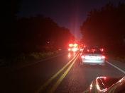 Car accident on Huntsville Road between Elkins in Fayetteville
