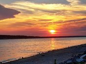 Saylorville sunset