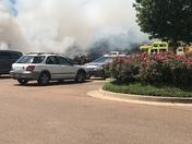 """Renaissance Mall """"Truck Fire"""""""