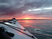 Lake Huron by Sunset