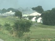 Fire at Smoketown Airport