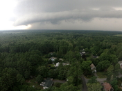 Storms rolling through early this afternoon
