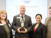 NCCI Presented with Toastmasters Award