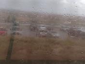NM 599 Santa Fe County Rain