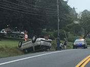 Crash on Blue Rock Rd