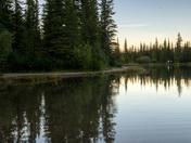 Forgetmenot pond sunset shots