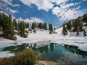 Ridge Lakes in Lassen Volcanic National Park