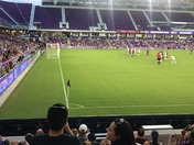 Fun at the Orlando Pride Game