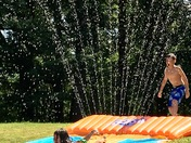 Slip and slide!