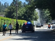 Accident shuts power off to 5703 PG&E customers.