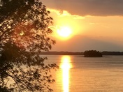 Lake Hartwell at Sunset 'n