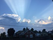 Heavenly clouds over cleona