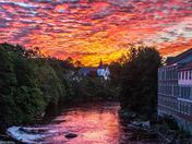 Sunrise in Milford