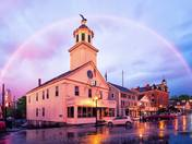 Rainbow over Milford NH
