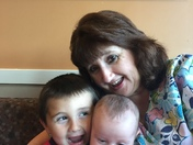 A Grammie and her boys!