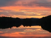 Sunset on the Androscoggin