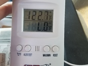 Temperature in my truck this afternoon