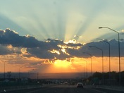 Sunset from ABQ