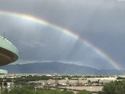 Rainbow over the Sandias