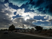 Beautiful west side clouds!