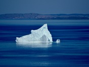 Iceberg on the Newfoundland Coast