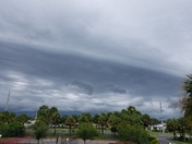 Storm Clouds Over Port St John 7-21-2017