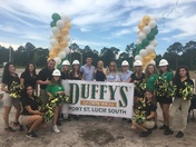 Duffy's Sports Grill Celebrated First Ground Breaking Ceremony in Port St. Lucie