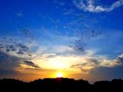 Sunrise in Chariton.