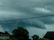 Storm in Luling, LA