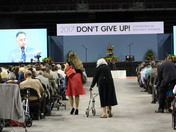 """2017 Jehovah's Witnesses Regional Convention """"Don't Give Up!"""""""