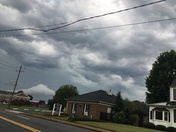 These are some pictures of some Amazing Asperatus Clouds over Greer,sc