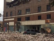 Old J.C. Penny's building collapse McComb MS