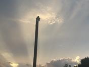 Moore, OK sunset